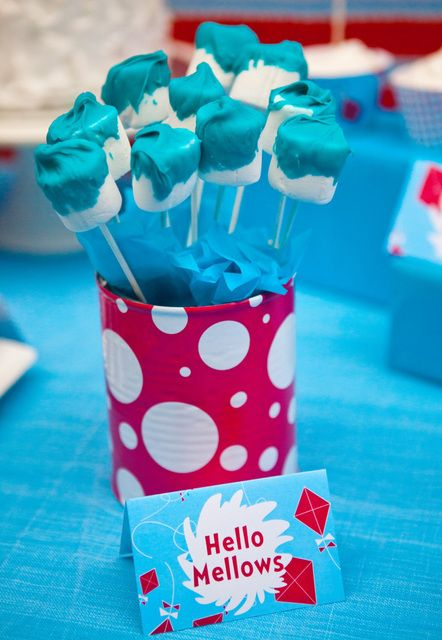 Dr Seuss Cat In The Hat Birthday Party Ideas Birthdays