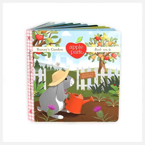 Apple Park | Bunnys Garden Book | Book 2 at little green footprints