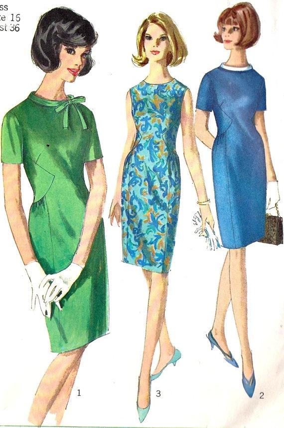 1960s Misses Dress Vintage