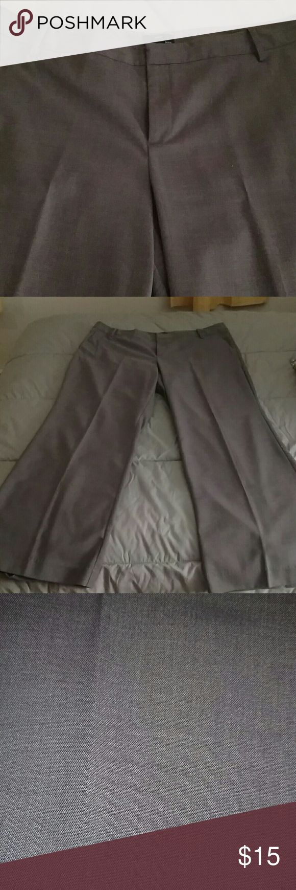 Gap Grey Dress Pants Grey trouser leg dress pants, great material that does not wrinkle, which made the perfect for travelling. GAP Pants Trousers