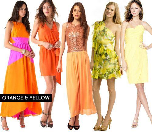 30 Colorful Cocktail Dresses for Summer via Brit + Co.