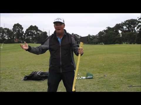 (golf Lesson) Learn to let the club do the work for more distance - YouTube