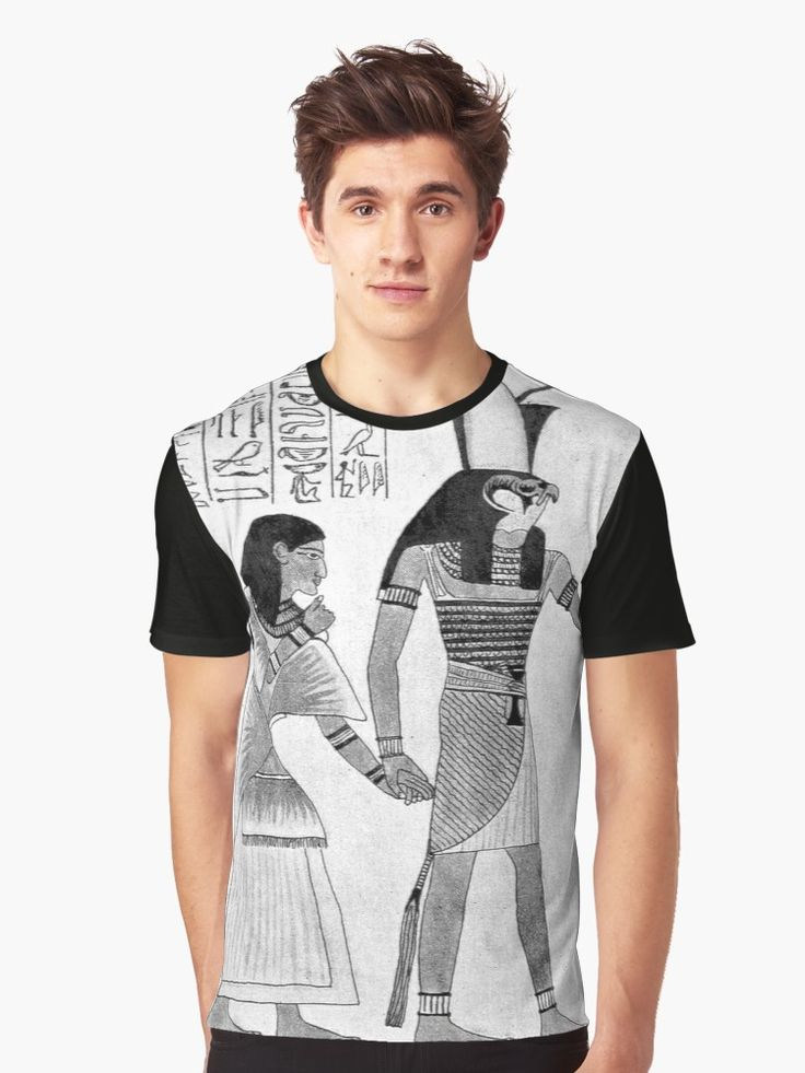 Original Hand Drawn Illustrations from the 1800s Ancient Egypt Graphic T-Shirt