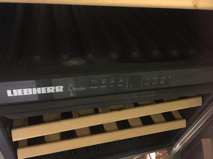Liebherr WTUES 1653 Refrigerator Liebherr WTUes 1653 Integrated Wine Cooler  #Liebherr