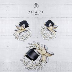 The #fashion #jewelry for #fashionistas by #Charu #jewels