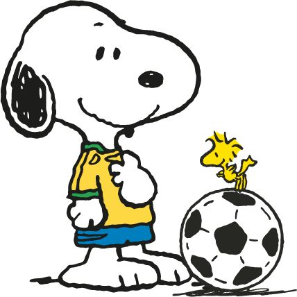 Image result for snoopy soccer clip art