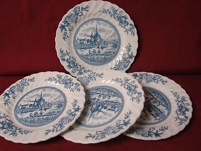 #Johnson Brothers China England #Tulip Time In Blue set 4 bread plate & 47 best Johnson Brothers England. images on Pinterest | China ...