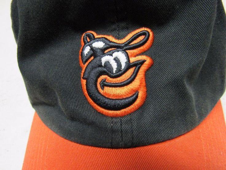 "Men's Baltimore Orioles ""Retro"" Hat / Baseball Cap  Orange Bild  #TwinsEnterprise #BaltimoreOrioles"