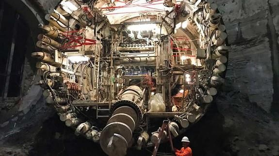 Elon Musk reveals first image of secret tunnel project Read more Technology News Here --> http://digitaltechnologynews.com  Elon Musk likes to show off his toys and the latest appears to be a component of his new tunnel boring efforts designed to defeat the scourge of Los Angeles traffic.  On Friday amid widespread criticism related to his advisory connections to the Trump administration Musk showed that he was nevertheless undeterred in his subterranean geekery when he posted an image of…