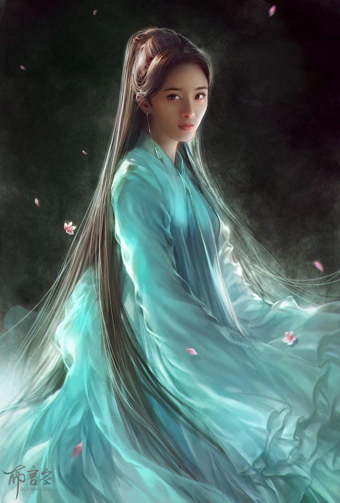 картинки фэнтези красивые китаянки стирке может