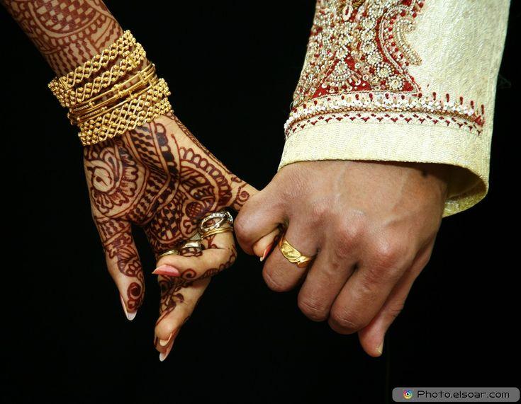 Rings In Wedding Hands