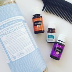 One of my favorite DIY recipes that I use my Young Living essential oils for is shampoo. This recipe is so easy. I've never been one for really smelly shampoos (don't like to attract ) and besides Fragrance (the handy term that cosmetic companies use to classify all the smells) is really nasty for your body. So here's the recipe in case you want to make some too: 24 drops each of lavender and cedarwood 12 drops of rosemary About 1 1/2 oz of Castile soap. Fill the bottle the rest of the...