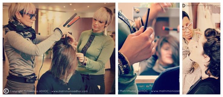 Hair stilist M Hair Dresser  http://zuccheroepeonie.blogspot.it/2013/02/wedding-day.html