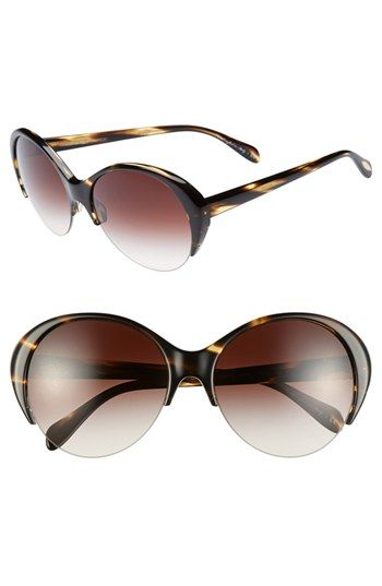 Oliver Peoples 'Colline' 59mm Sunglasses Brown Tortoise