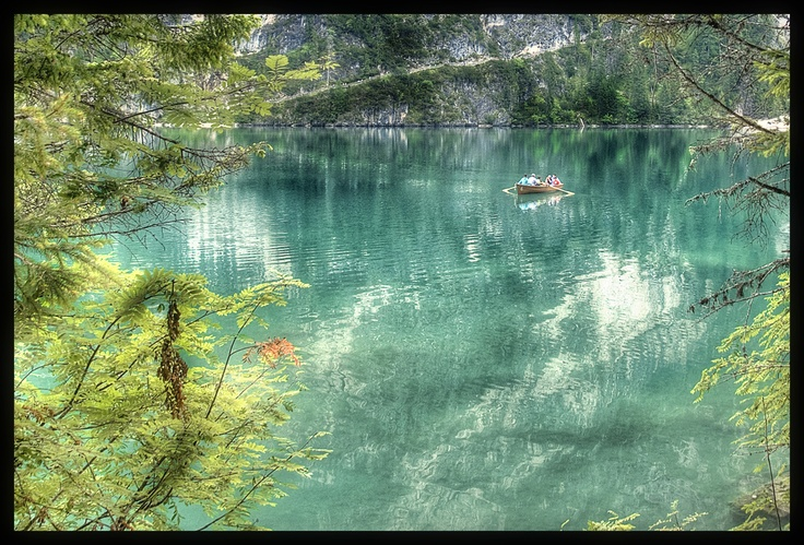 Braies Lake, Dolomites, Italy
