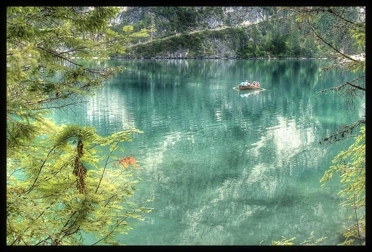 Braies Lake, Dolomites, Italy