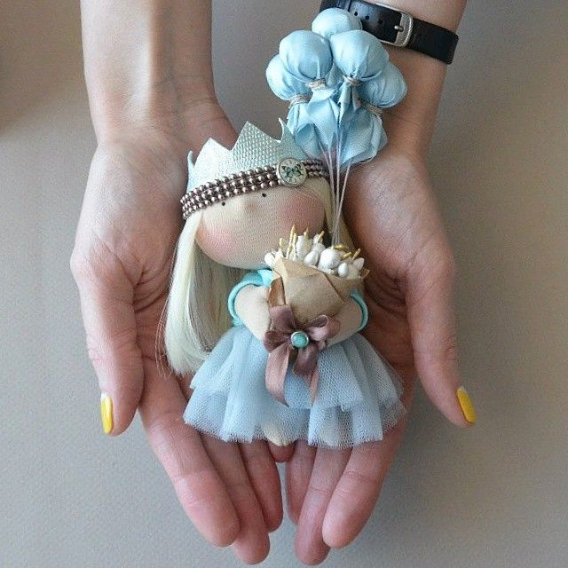 Каждая девочка-принцесса! #kooklook #кукла #принцесса #авторскиекуклы #ручнаяработа
