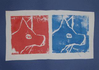 värivakka: Grafiikkaa press print -levyilla 5.lk