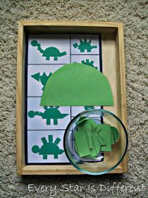 Elke Star Is Different: Dinosaur Unit w / Free Printables