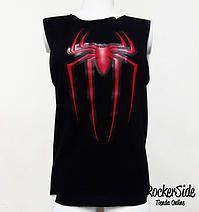 Camiseta Araña reformada en la espalda. $40.000 Adquierela en www.rockerside.com Envíos a todo Colombia, aceptamos todos los medios de pago