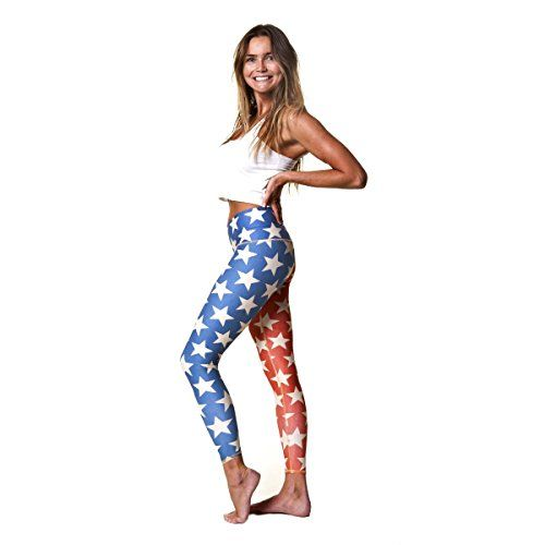 Teeki Star Power Hot Pant Yoga Leggings Small -- You can get more details by clicking on the image.