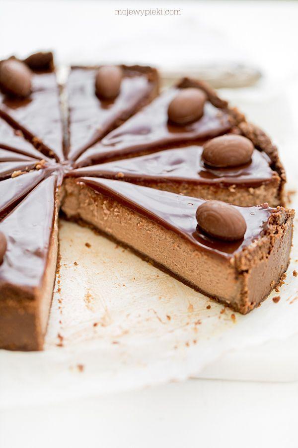 milk chocolate cheesecake
