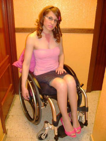 Pity, naked wheelchair women agree