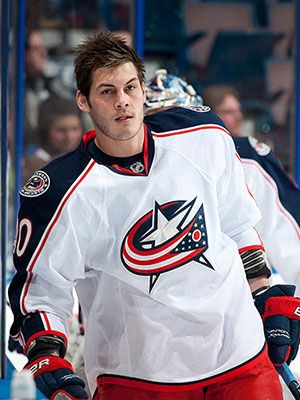 Cosmo has good taste this year :) Jared Boll, Columbus Blue Jackets #NHL