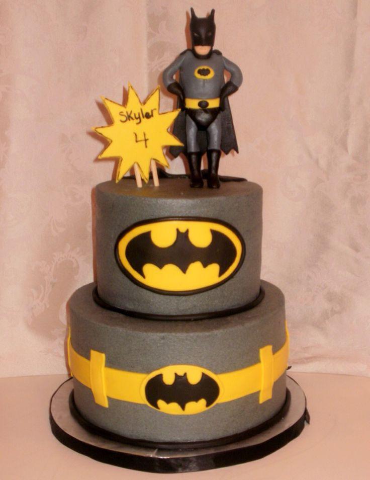 14 best Batman Birthday Cake images on Pinterest Batman birthday