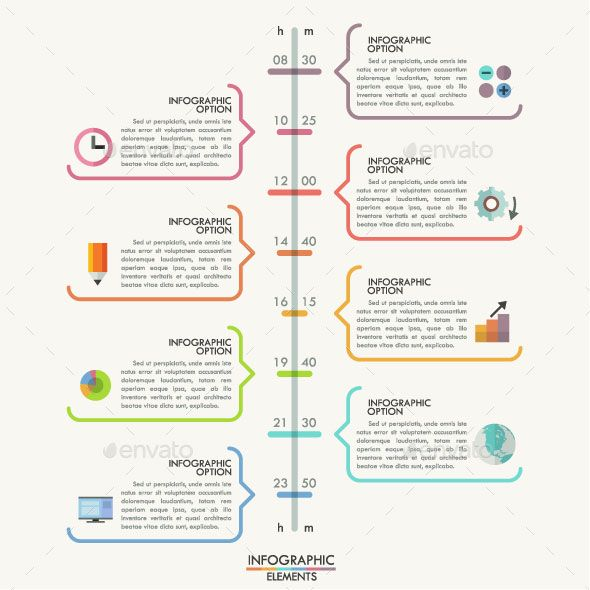 25 Amazing Timeline Infographic Templates