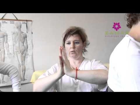 Indická masáž hlavy, antistresová masáž - UKÁŽKA - YouTube
