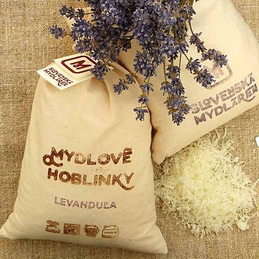 Mydlaren / Ekologické pranie: Mydlové hoblinky LEVANDUĽA 500 g