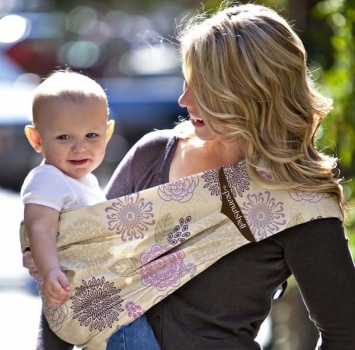 Adjustable Peanut Shell Sling – Dahlia | Boutique Online Children's Store - Baby and kids clothes, swimwear, toys and more