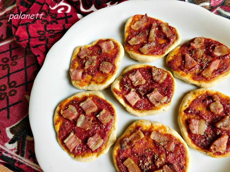 mini pizzakorongok