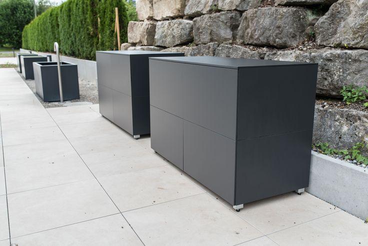 Terrassenschrank (@)win by design@garten, Augsburg - Germany. Projekt in Winterthur