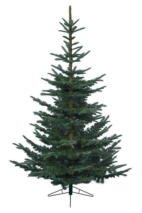 6ft Ilis Fir Feel Real Artificial Christmas Tree This Has Long Finger Like Branches That Are Well Spa Decoration Pinte