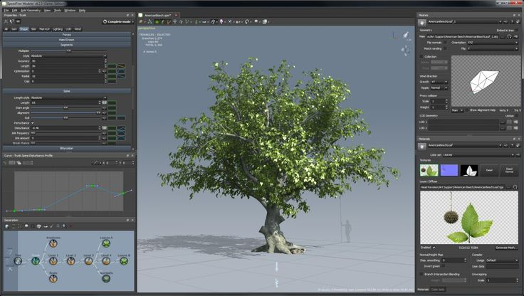 Tree Rendering Software Tools