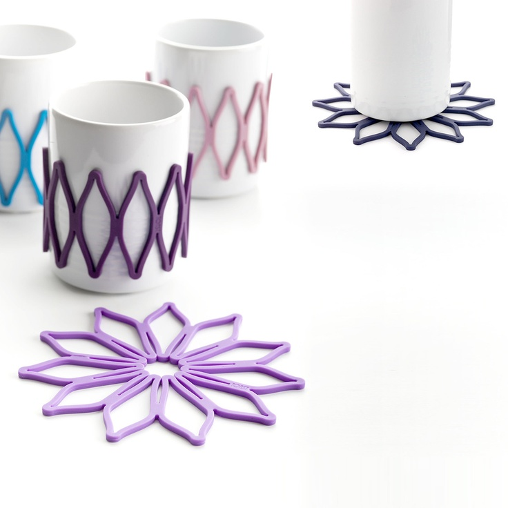 Bloom Sleeve/Trivet Set Of 5 by Toast