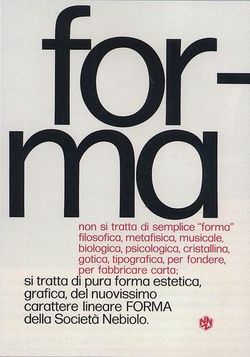 Forma, 1966 by Aldo Novarese