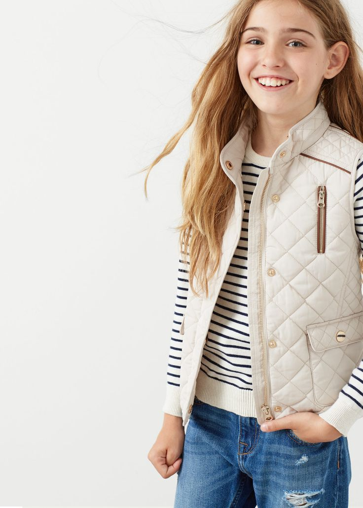 Attrayant Mango Kids Madrid #15: Quilted Gilet. SloveniaKid ClothingKids GirlsMango