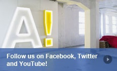 Follow us on Facebook, Twitter and YouTube!