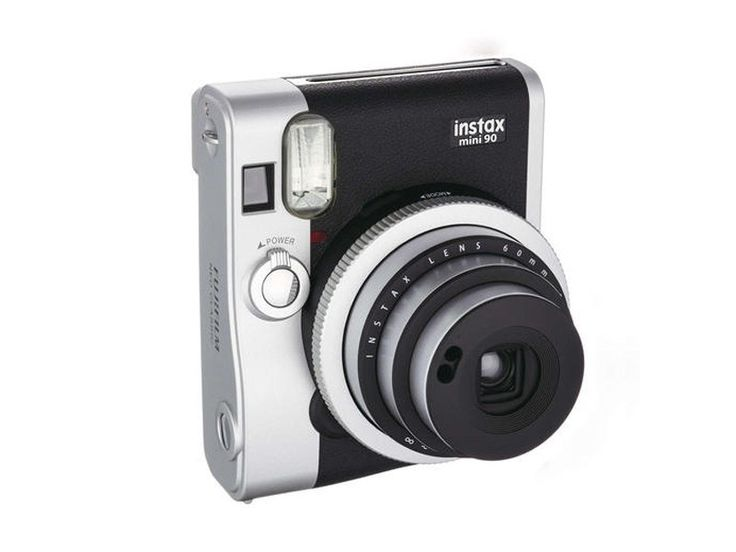 Kjøp Fujifilm Instax Mini 90 Neo Classic Sort Instant Filmkamera 62x46mm bilder hos Scandinavian Photo i Norge