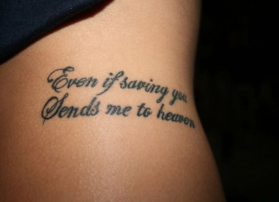 30 Astonishing Tattoo Quotes for Women - Yankee Bloggers
