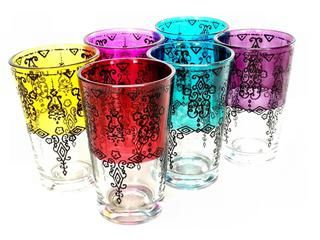 Marrakech Tea Glasses