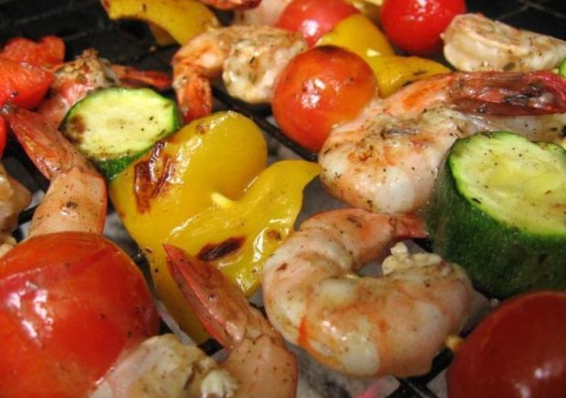 Pinchos de Gambas (Shrimp Skewers) HispanicKitchen.com