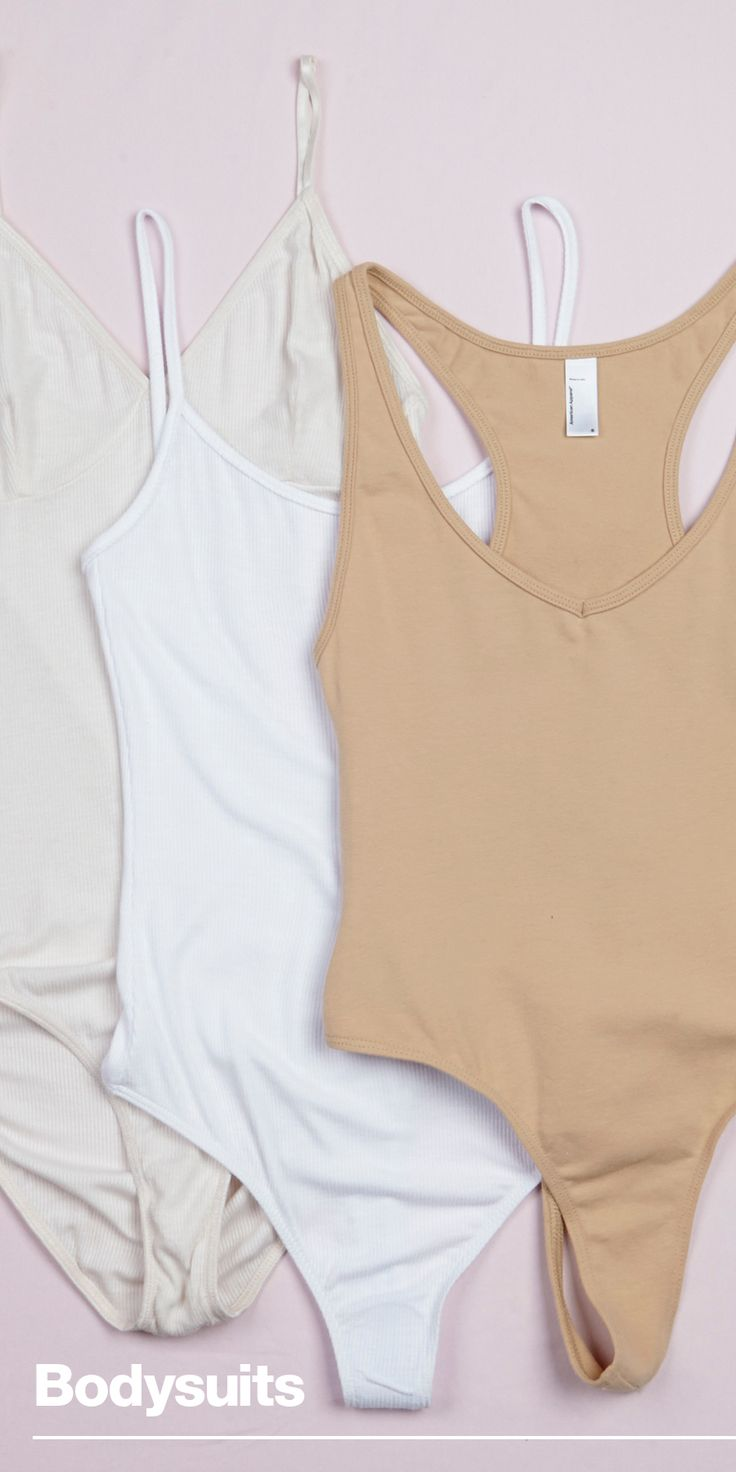 The Layer You'll Never Take Off Versatile Bodysuits These American Apparel classics are versatile, fitted and available in new shades for the season.