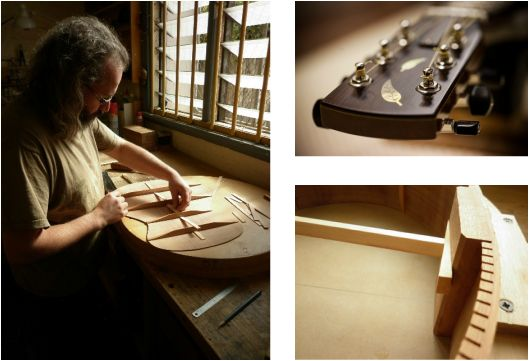 Finely hand-crafted guitars using ethically sourced timbers and Australian tone woods.