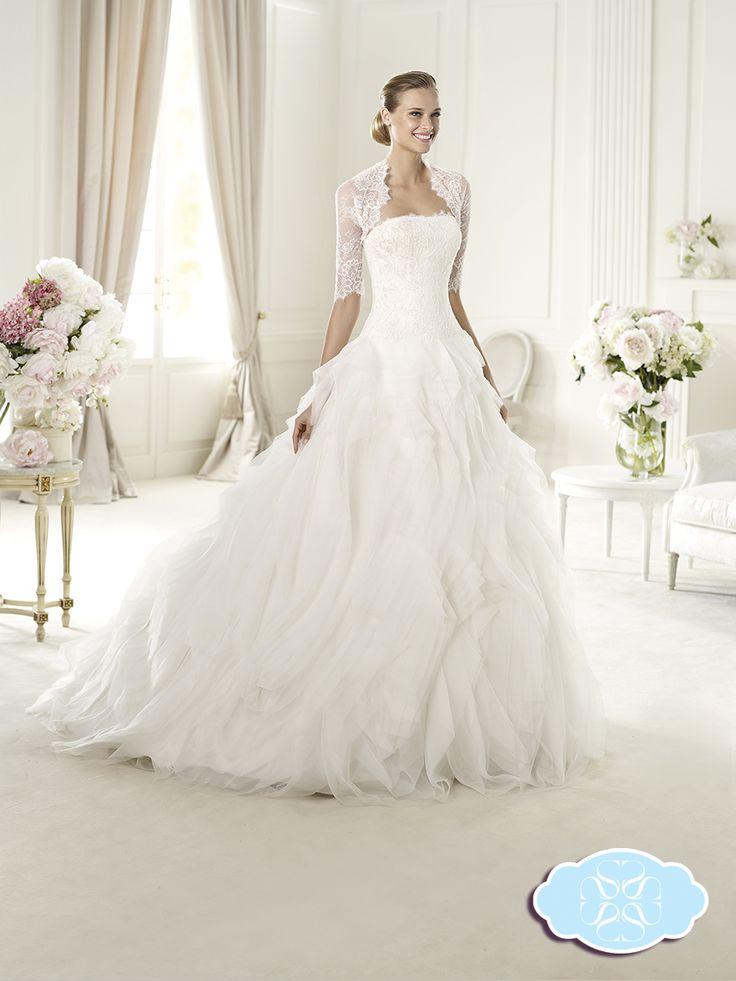 37 besten Pronovias Bilder auf Pinterest   Hochzeitskleider ...