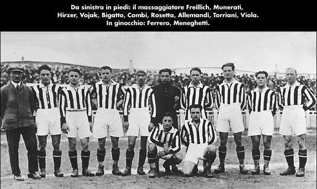 La squadra della Juventus - 1925  www.camperingiro.wordpress.com