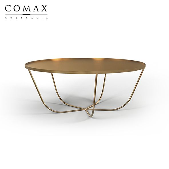 Ali coffee table, aluminium powder coated.